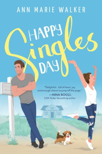 Happy Singles Day by Ann Marie Walker book cover via GoodReads
