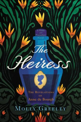 The Heiress by Molly Greeley book cover via GoodReads
