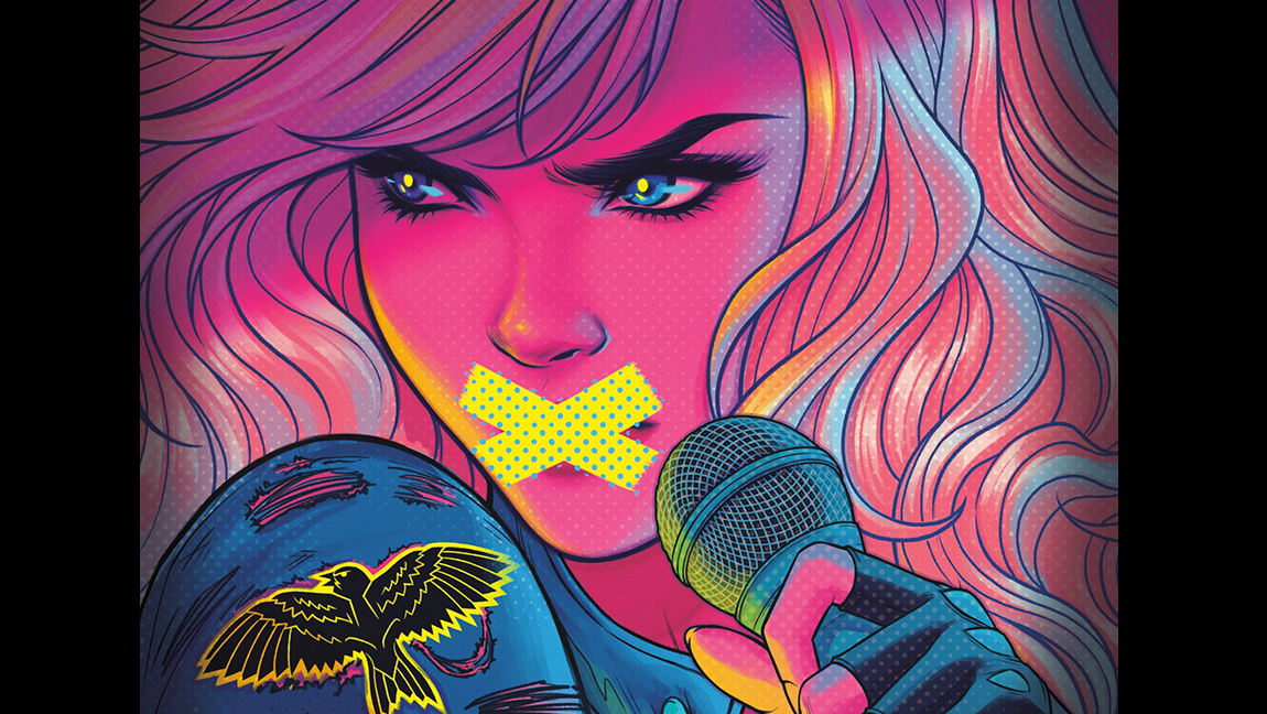 Cover of 'Black Canary: Breaking Silence' by Alexandra Monir.