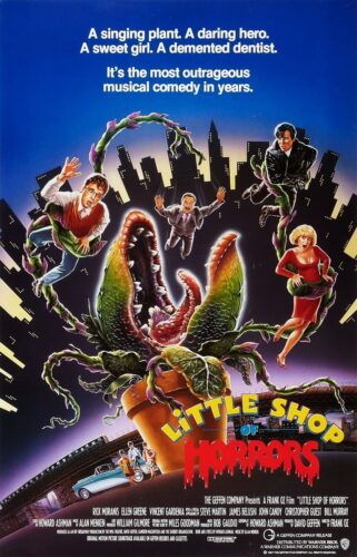 Promotional Poster for the musical The Little Shop of Horrors