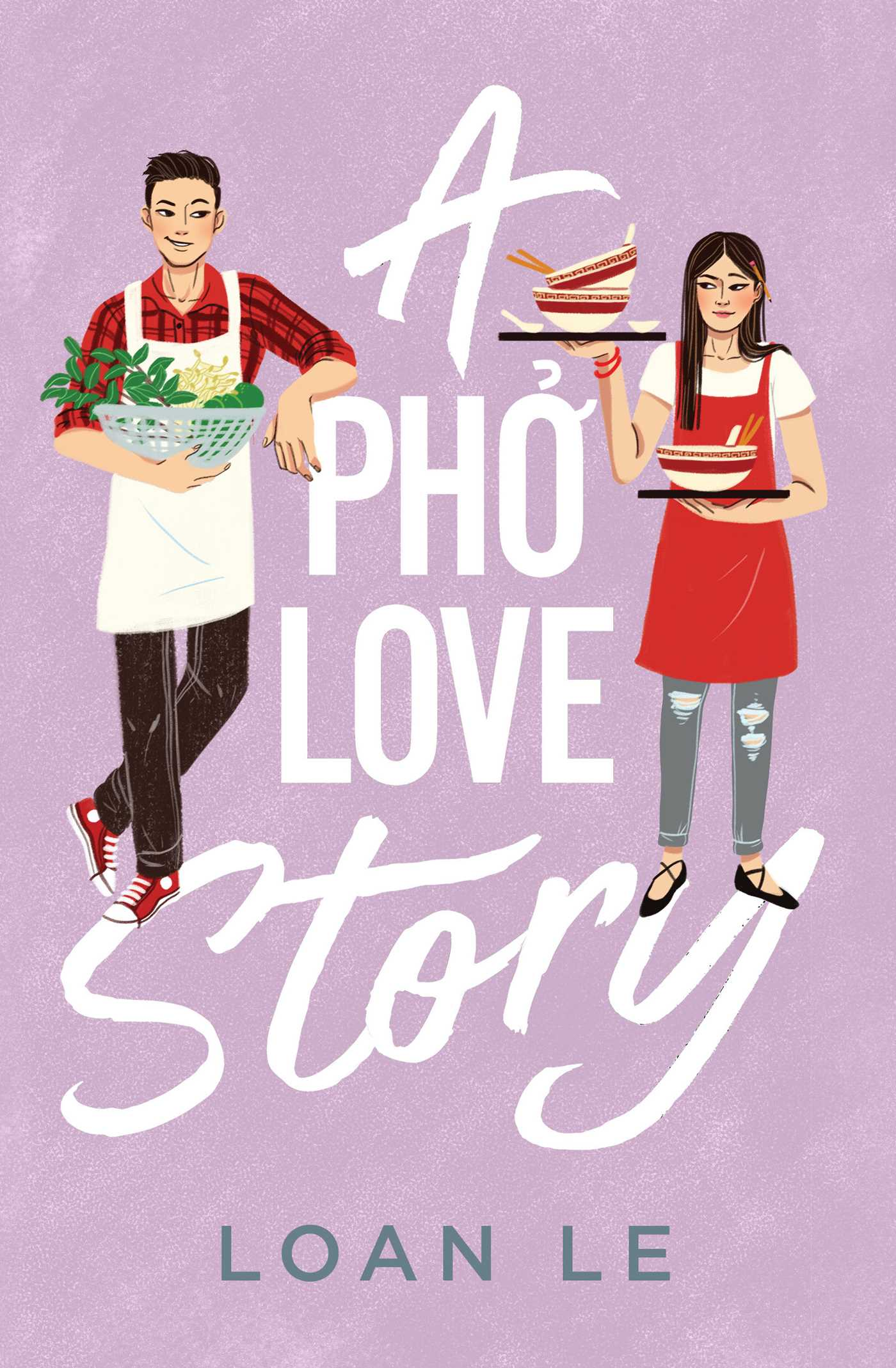 A Pho Love Story Book Cover