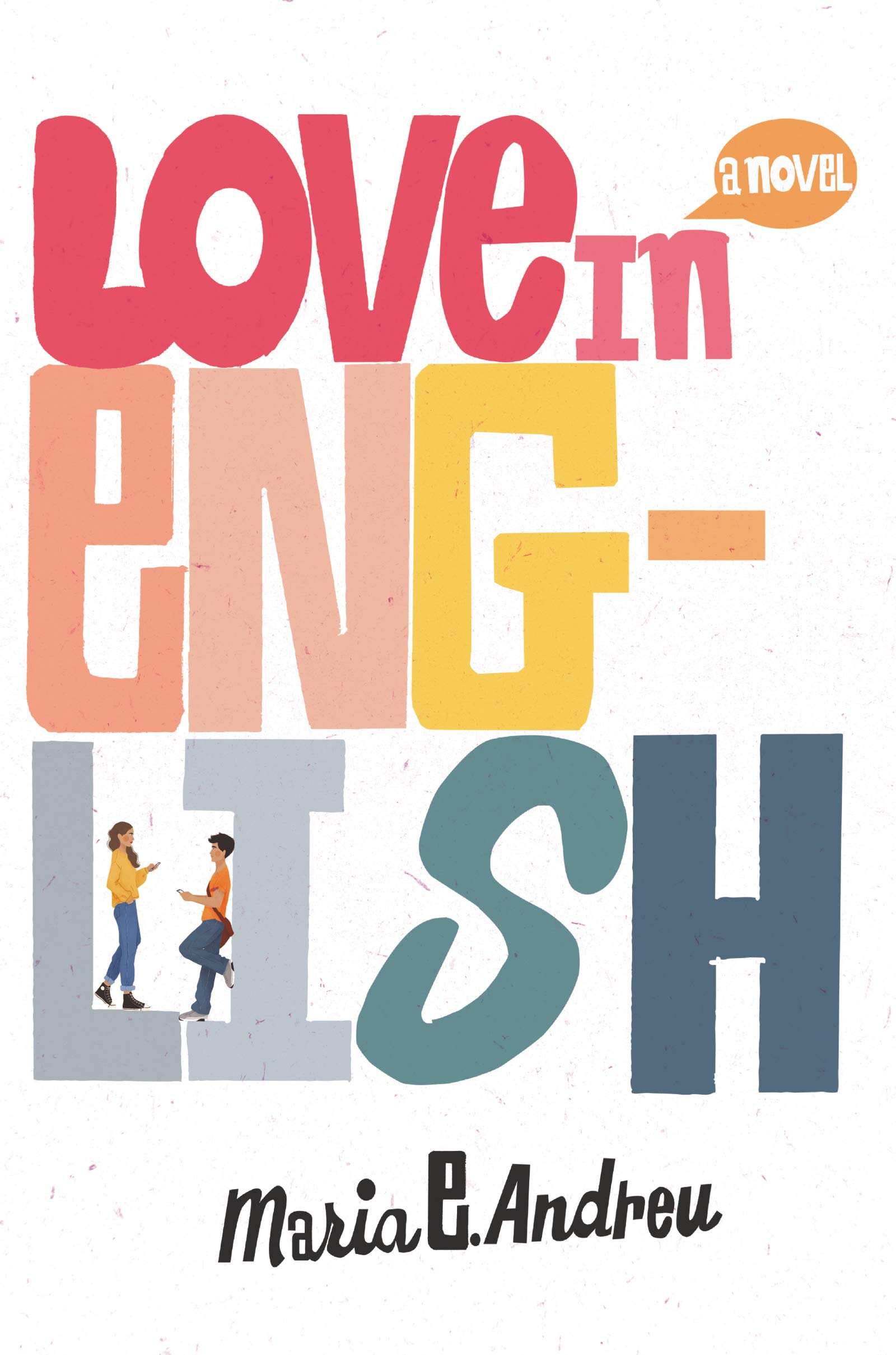 Love in English Book Cover