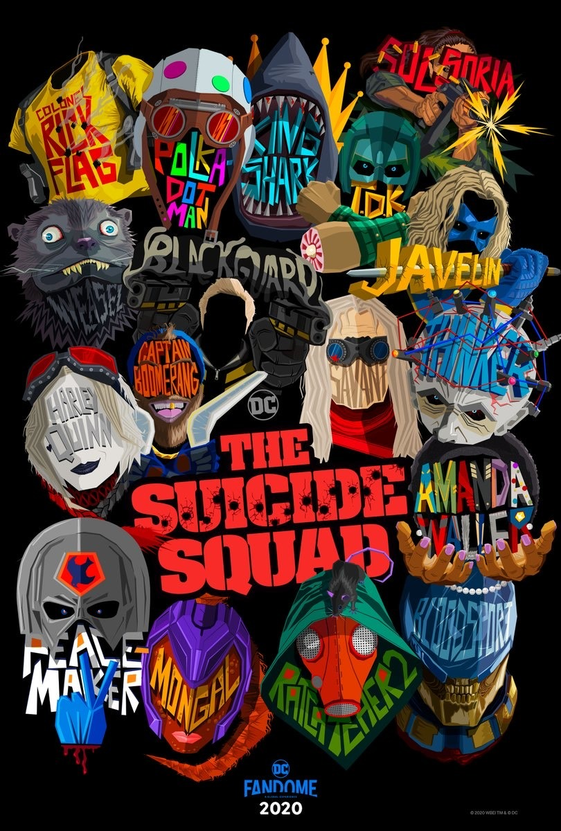 The Suicide Squad movie poster from IMDb