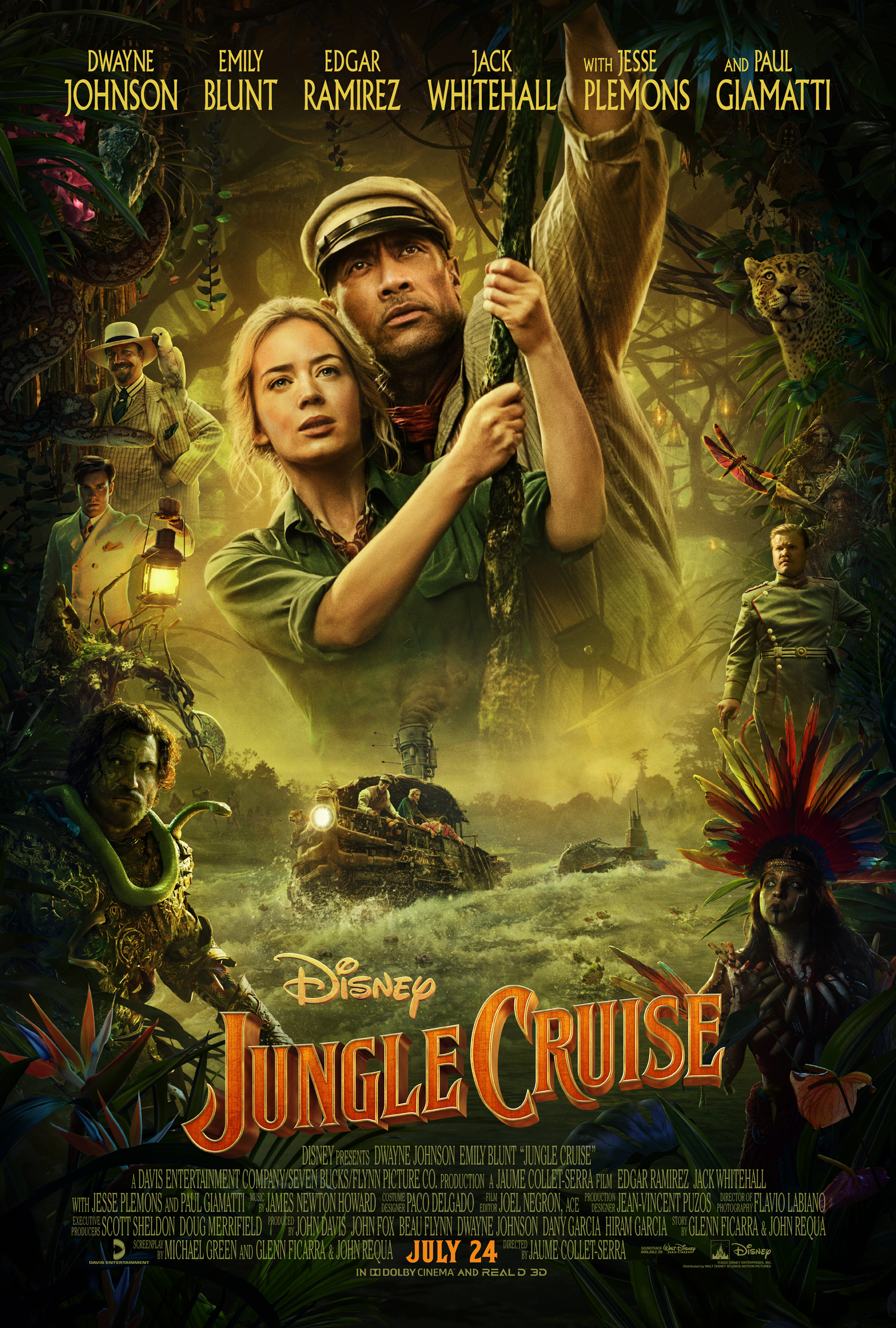 Jungle Cruise movie poster from IMDb