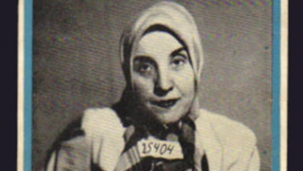 """[Image description: Dr. Gisella Perl on the cover of her book, """"I Was A Doctor in Auschwitz"""".] Via Wikipedia"""