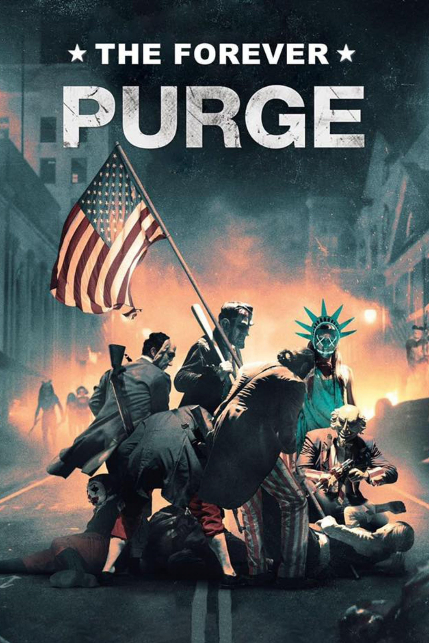 The Forever Purge movie poster from Buzz