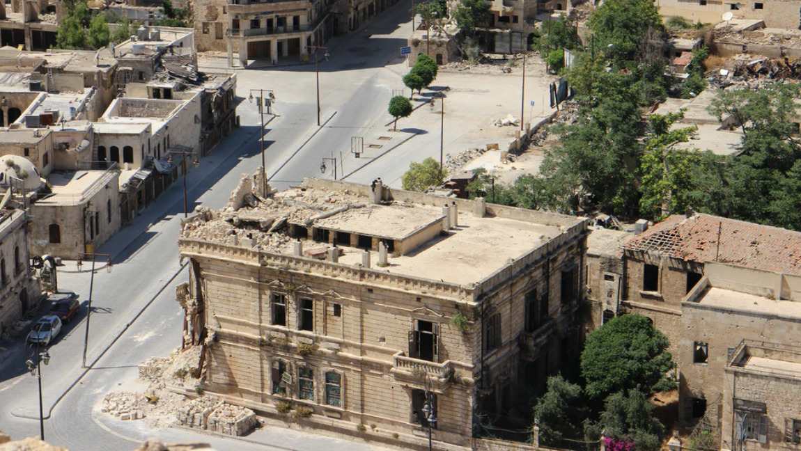 [Image Description: An aerial view of Aleppo, Syria] Via Unsplash