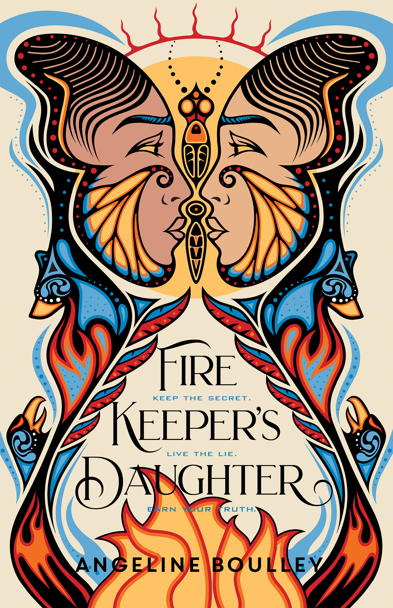 Firekeeper's Daughter Book by Angeline Boulley book cover