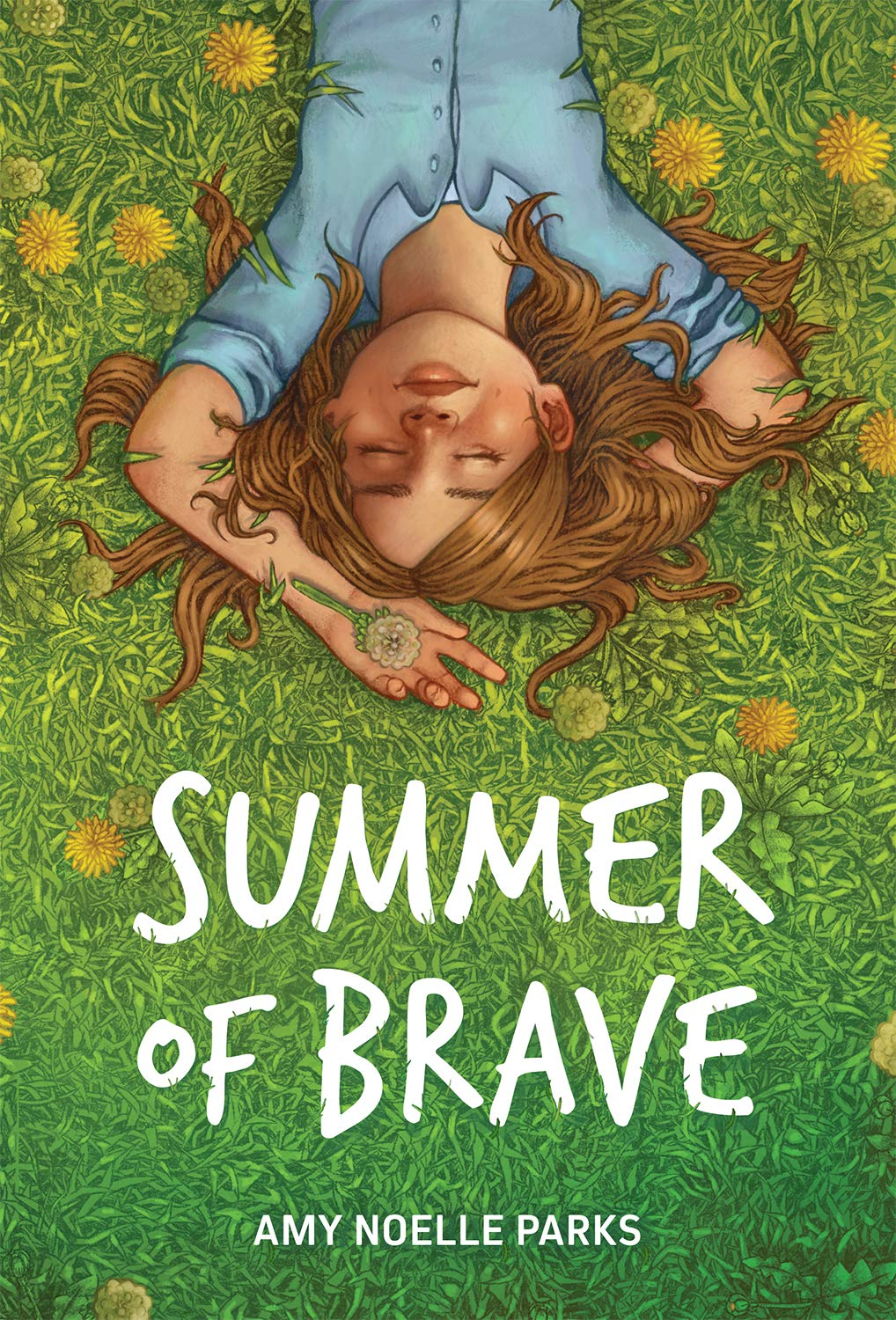 Summer of Brave by Amy Noelle Parks Book Cover