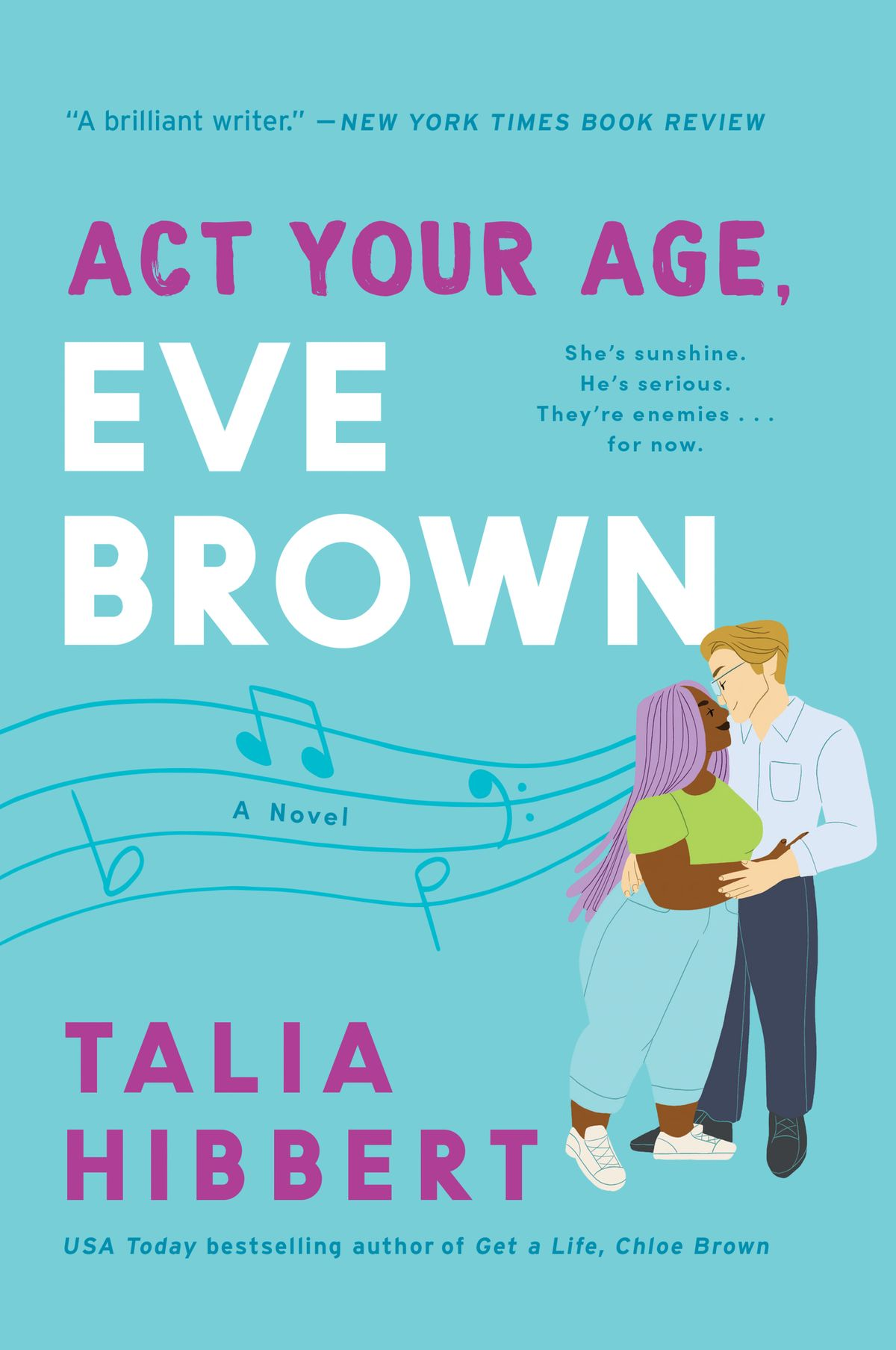 Act Your Age, Eve Brown by Talia Hibbert Book Cover