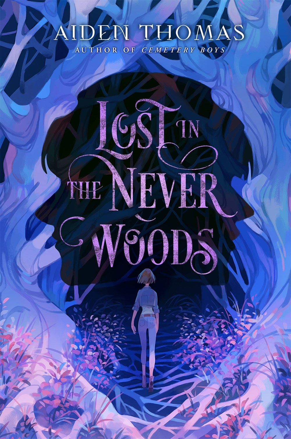 Lost in the Never Woods by Aiden Thomas Book Cover