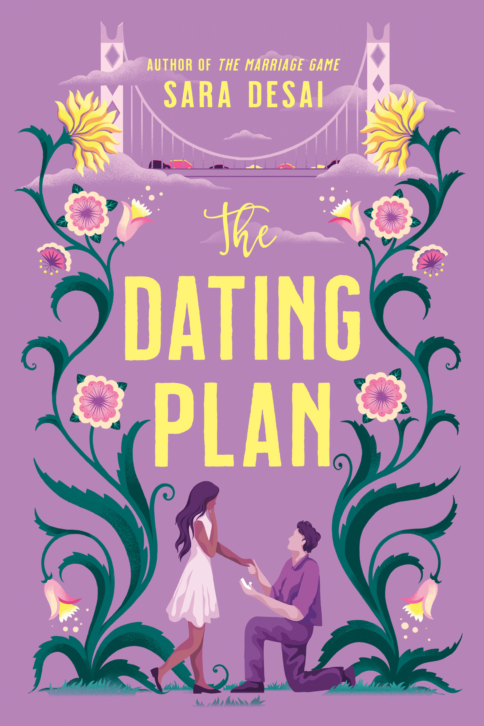 The Dating Plan by Sara Desai Book Cover