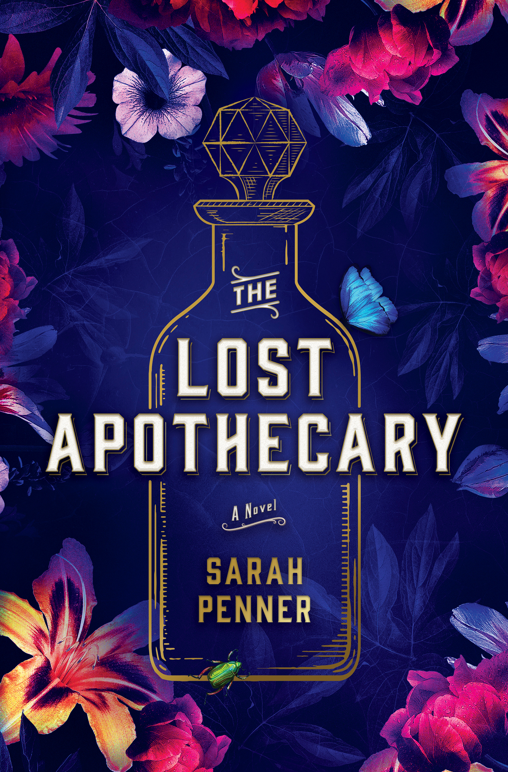 The Lost Apothecary by Sarah Penner Book Cover