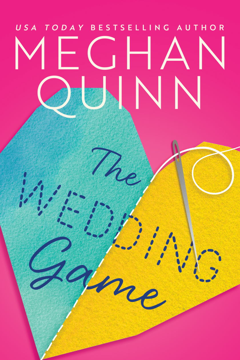The Wedding Game by Meghan Quinn Book Cover