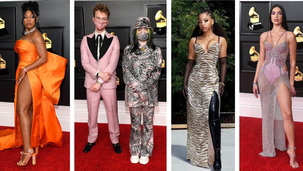 11 looks from the 2021 Grammys that will take your breath away