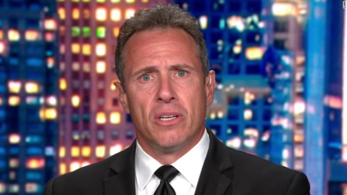 "[Image description: Chris Cuomo on ""Cuomo Prime Time"".] Via cnn.com"