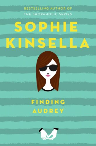 Book cover of Finding Audrey by Sophie Kinsella.