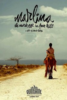 Marlina (Marsha Timothy) is trotting away on a horse in an arid land.