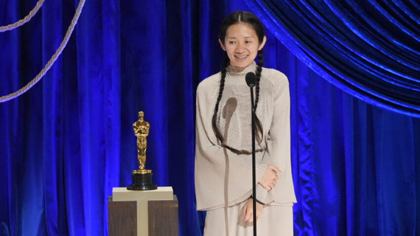 Chloe Zhao is the first woman of color to win for Best Director