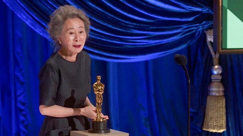 Best Supporting Actress winner Yuh-Jung Youn