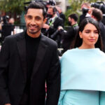 [Image Description: Riz Ahmed and Fatima Farheen Mirza photographed at the 2021 Oscars. ] Via News18