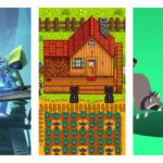 Collage of recommended indie games: 'Little Nightmares', 'Stardew Valley', 'Donut County' (from Left to Right)