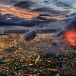 A wildfire razes Cape Town's Table Mountain National Park