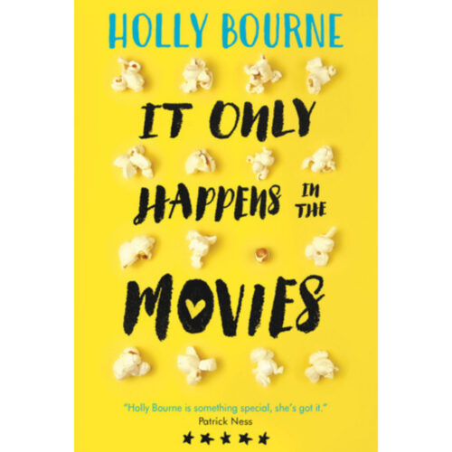 [Image Description: It Only Happens in the Movies by Holly Bourne] Via Goodreads.