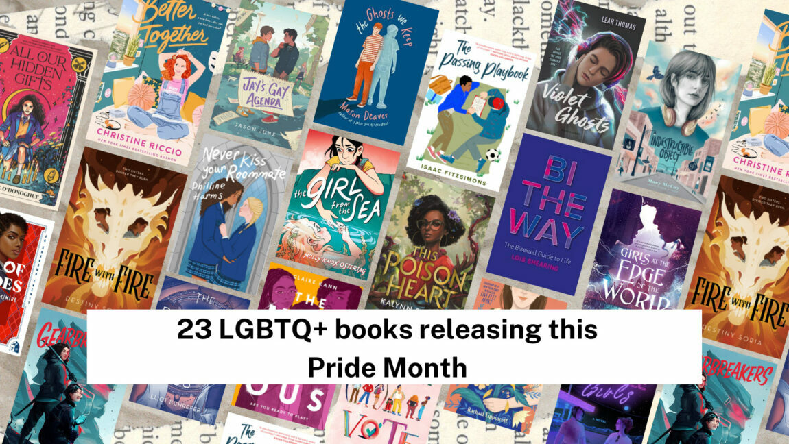 Feature Image of 23 LGBTQ+ books releasing this Pride Month