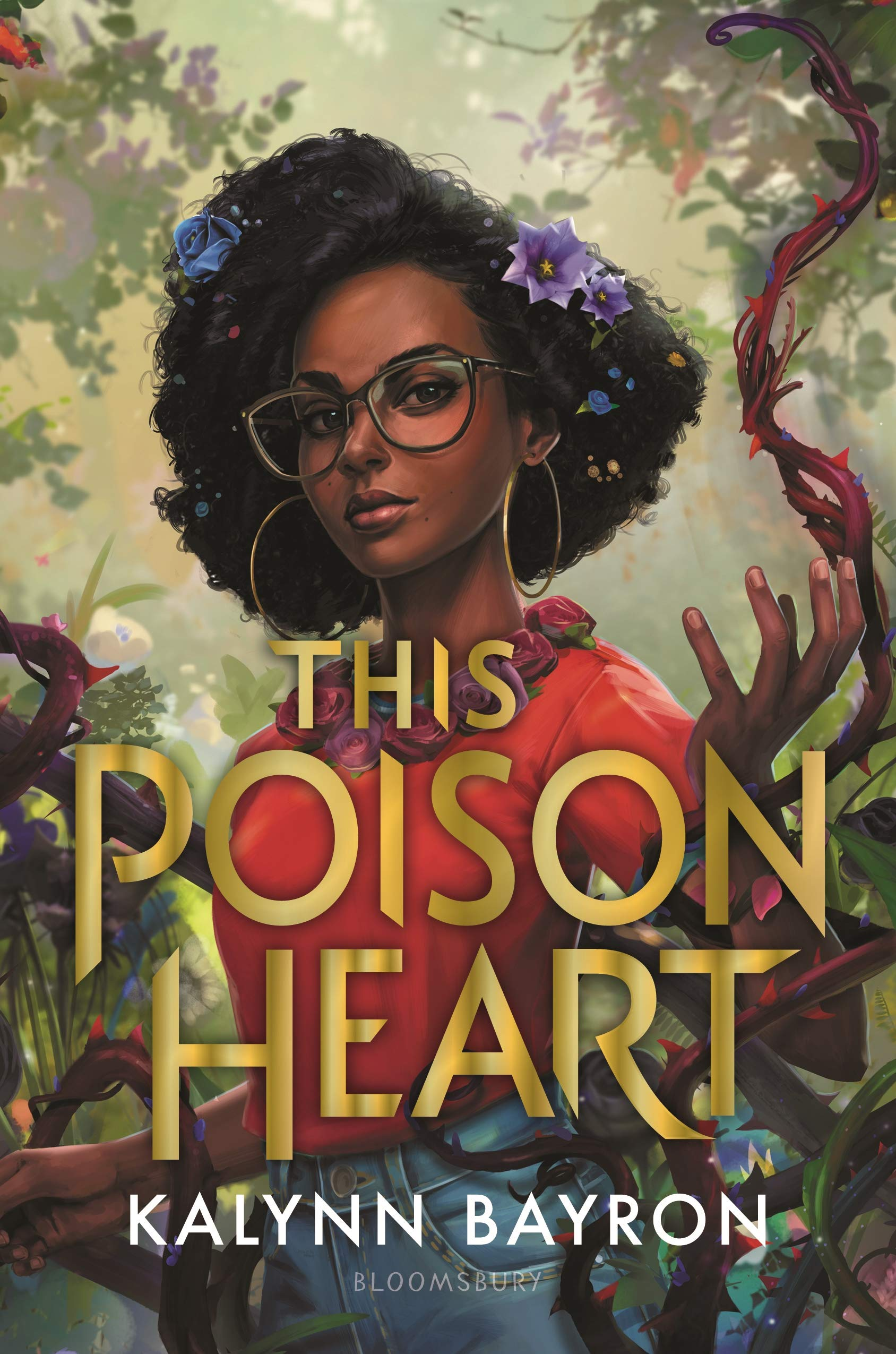 The cover of The Poison Heart by Kalynn Bayron