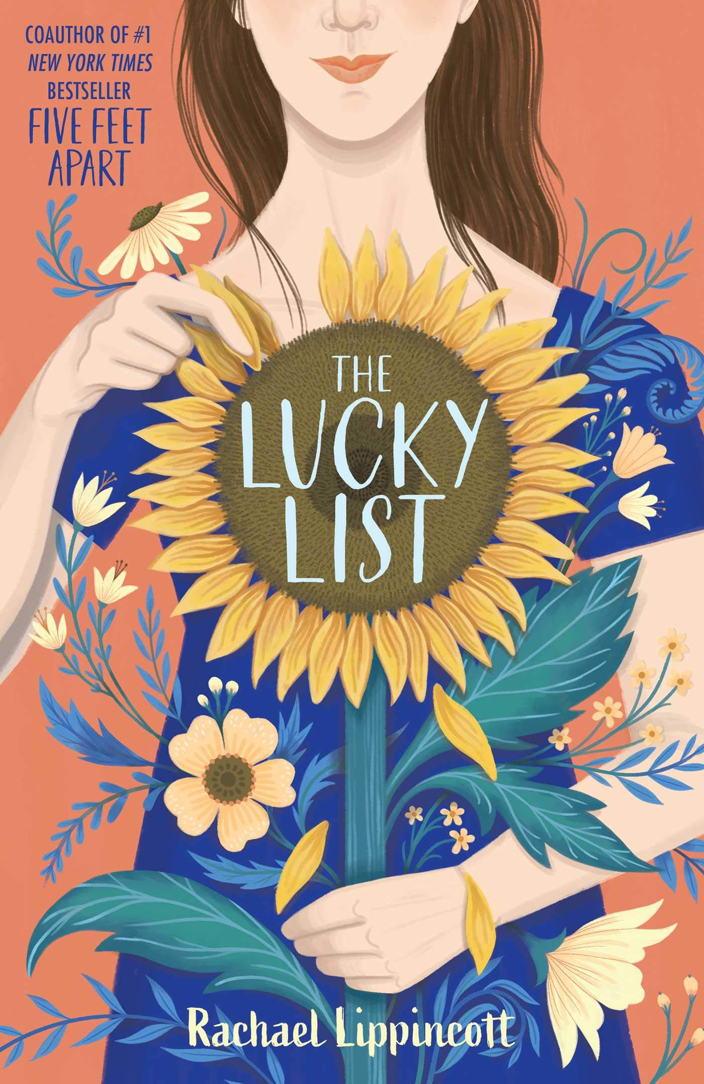 The cover of The Lucky List by Rachael Lippincott