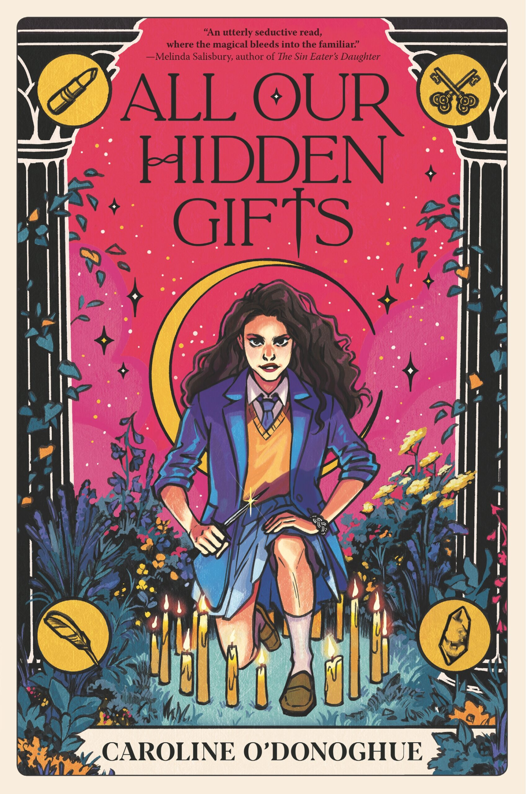 The cover of All Our Hidden Gifts by Caroline O'Donoghue