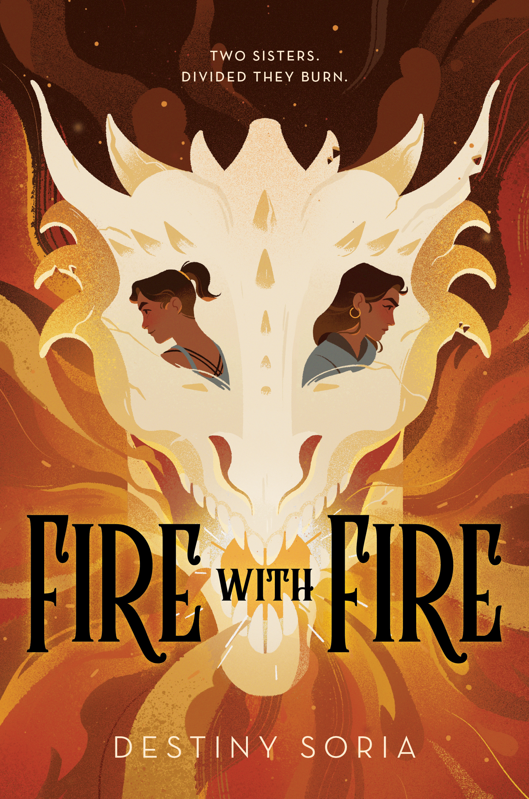 The cover of Fire with Fire by Destiny Soria