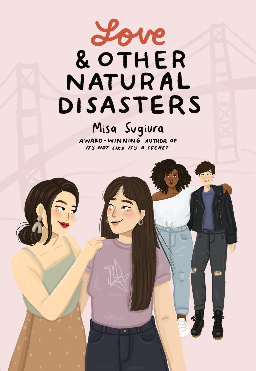 The cover of Love and Other Natural Disasters by Misa Sugiura