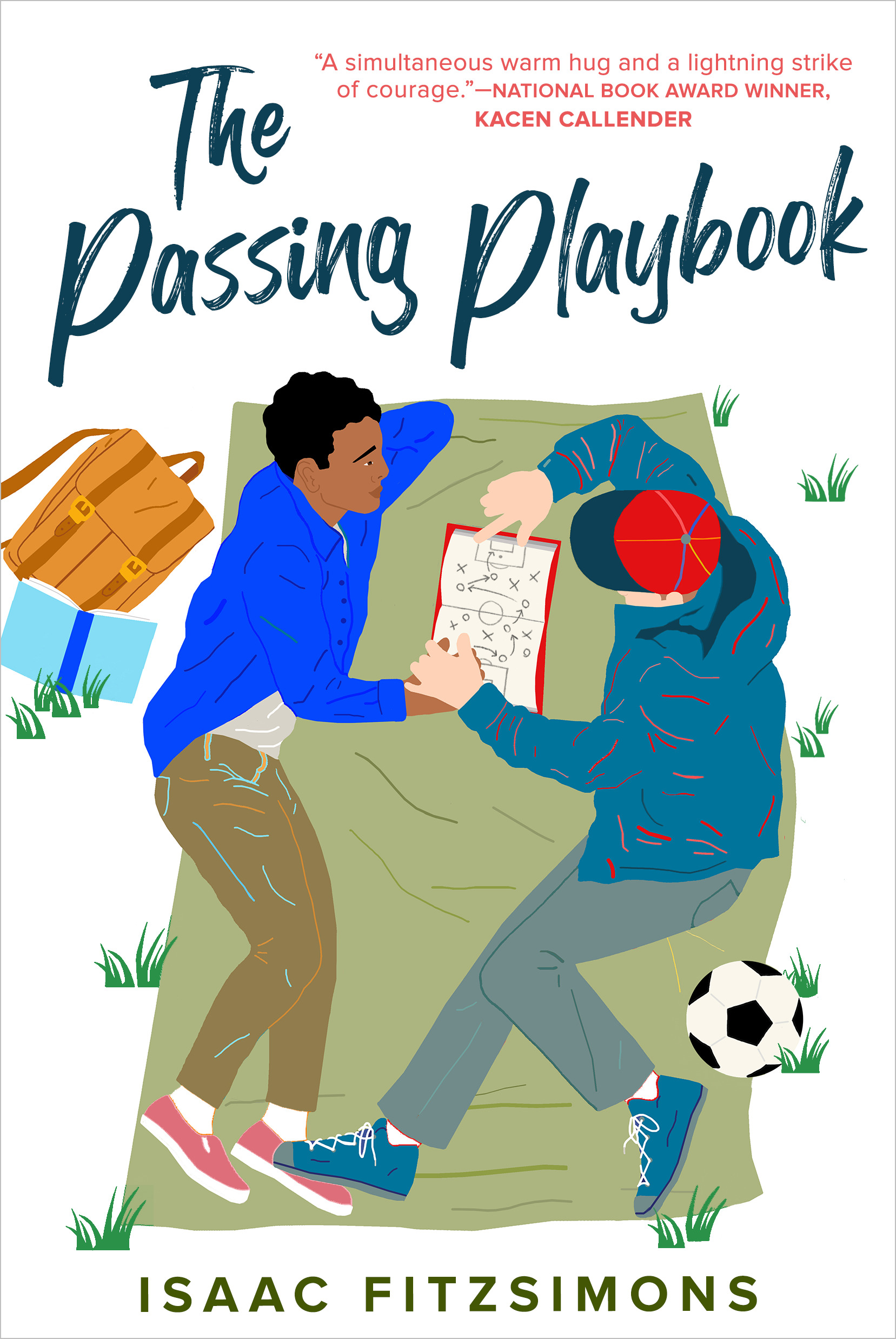 The cover of The Passing Playbook by Isaac Fitzsimons