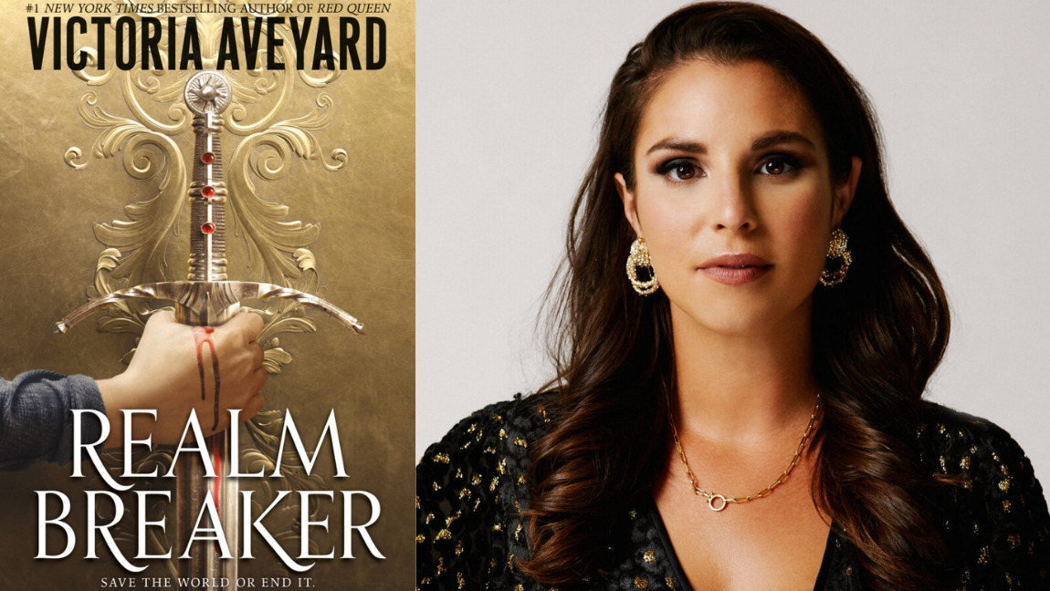 """Victoria Aveyard talks about her newest fantasy """"Realm Breaker"""""""