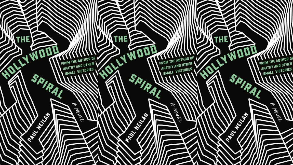 The cover of The Hollywood Spiral, by Paul Neilan.