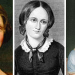 [Image description: Mary Shelley, Emily Bronte, and Jane Austen.] Via singers.com, discoverbritainmag.com, and Wikimedia Commons
