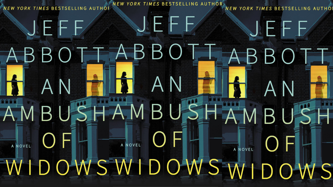 The cover of An Ambush of Widows, by Jeff Abbott.