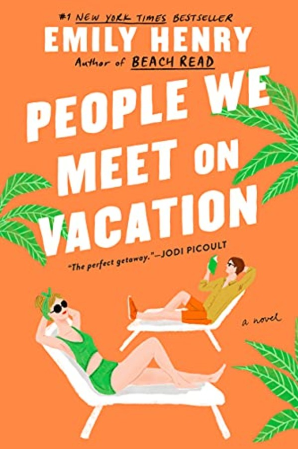 """Cover of """"People We Meet on Vacation"""" by Emily Henry"""