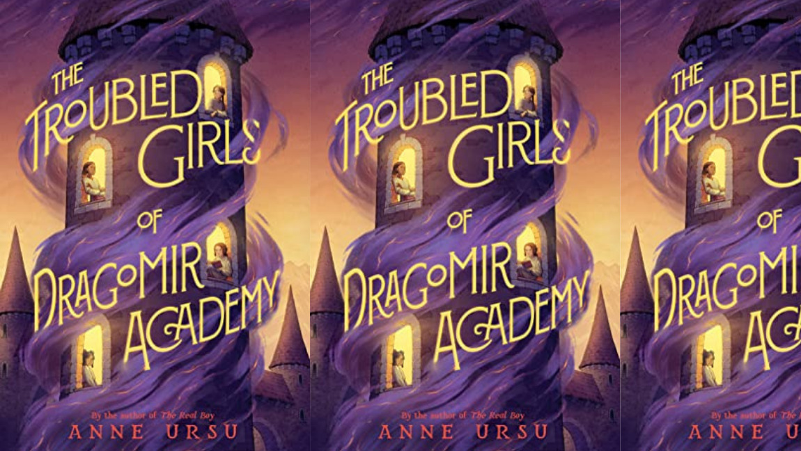 Cover of The Troubled Girls of Dragomir Academy by Anne Ursu
