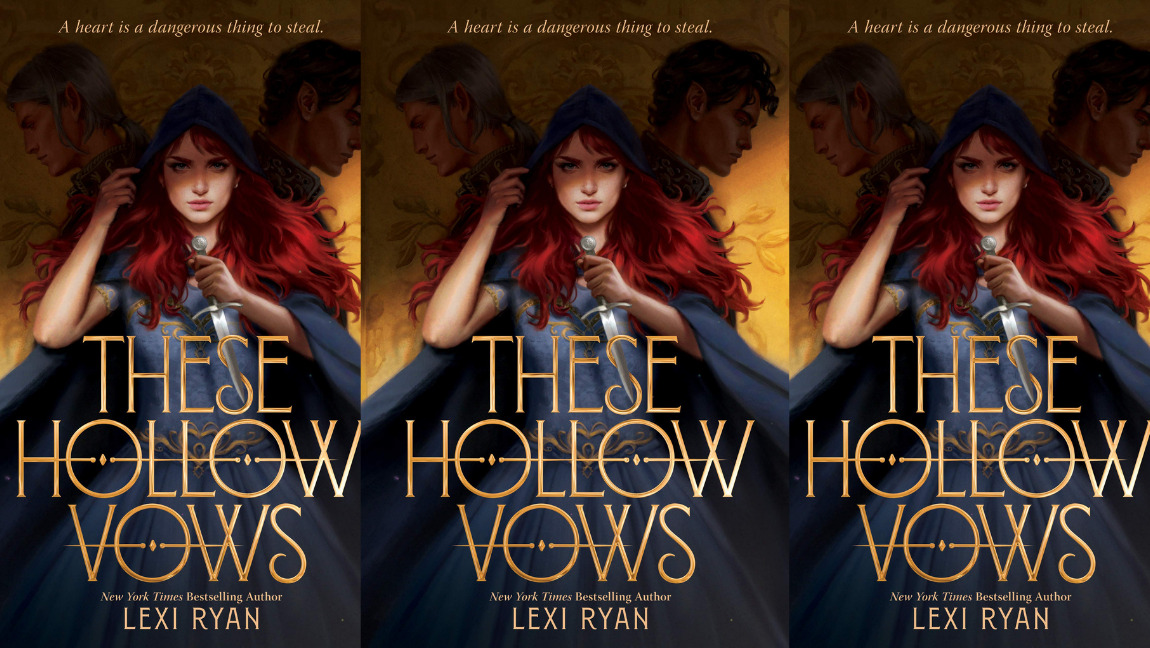 [Book cover for These Hollow Vows by Lexi Ryan]