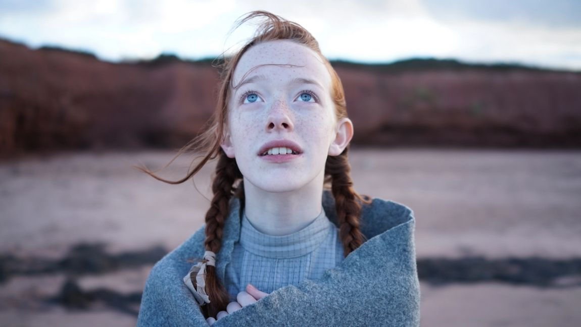 Amybeth McNulty as Anne Shirley-Cuthbert In Netflix's Anne with an E.] via IndieWire